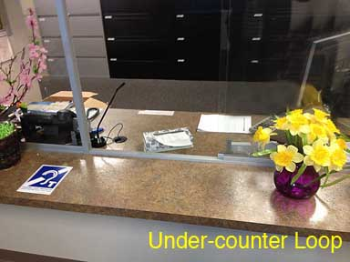 under counter loop