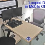 looped desk